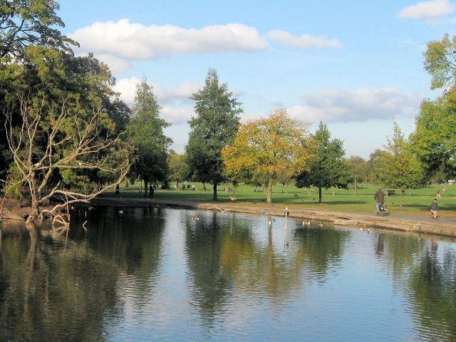Clapham Common in Autumn