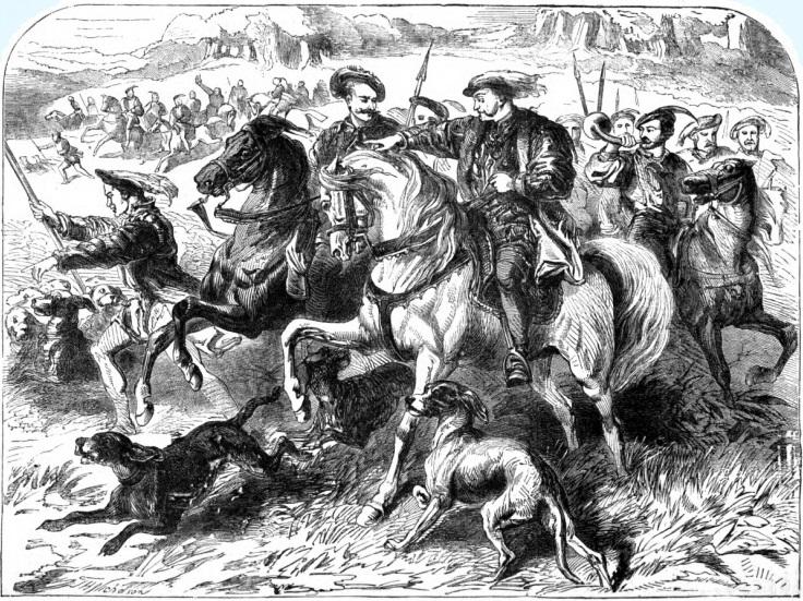 Henry VII hunting