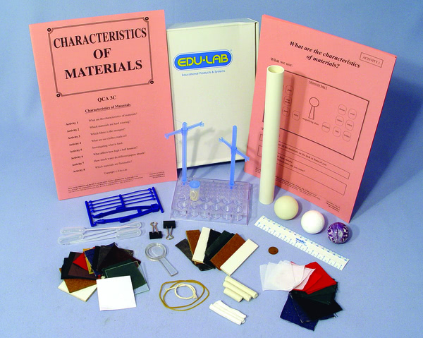 Mini Science Kit - Characteristics of Materials