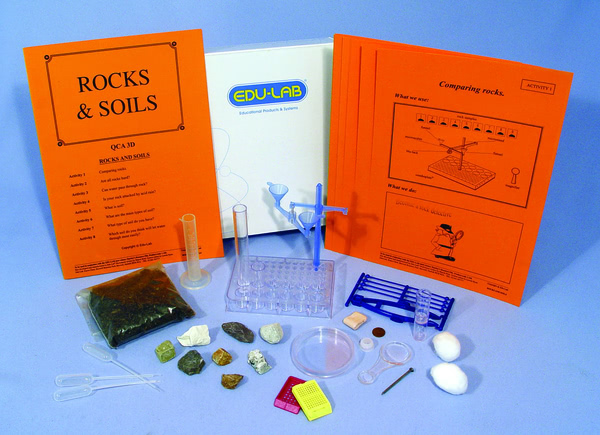 Mini Science Kit - Rocks and Soils