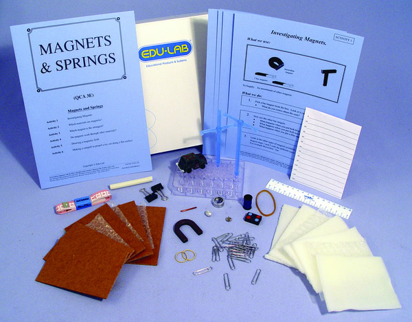 Mini Science Kit - Magnets and Springs