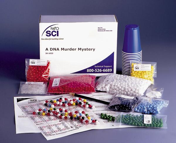 DNA Murder Mystery Lab Investigation