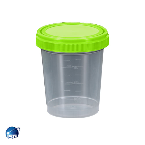 Specimen Container, Clean Room 500ml, PP - ISG (Pk 150)