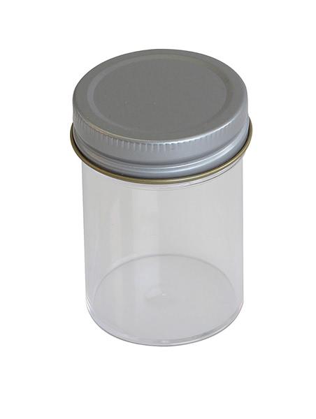 Specimen Container, Metal Cap 60ml, no label (PK300)