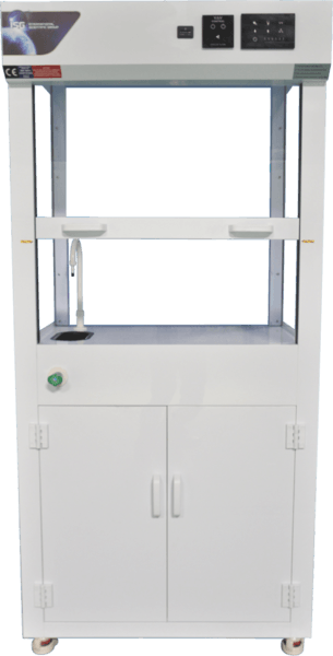 ISG Polypropylene Inverted Mobile Fume Cabinet
