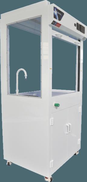 ISG Polypropylene Inverted Mobile Fume Cabinet