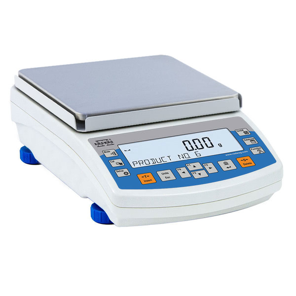 Radwag PS 6100.R2.M Precision Balance, 6100g x 0.01g