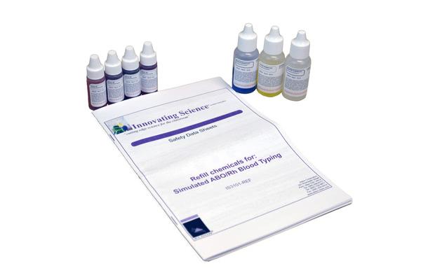 ABO/Rh Blood Typing - Refill