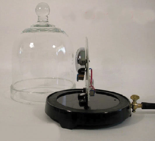 Bell In Glass Jar And Base