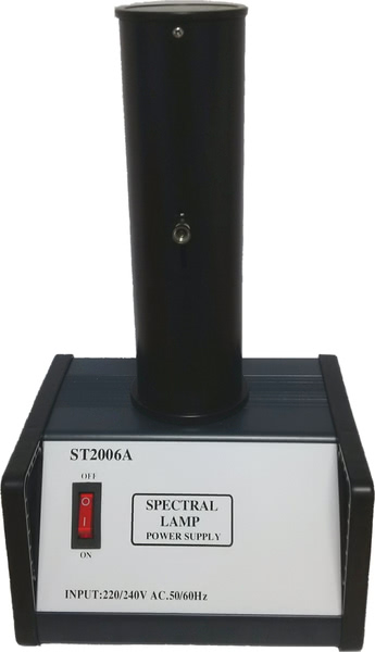 Spectral Lamp Power Supply with Lamp Holder