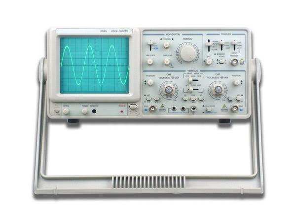 Oscilloscope Dual Trace/Channel (European) - Edulab