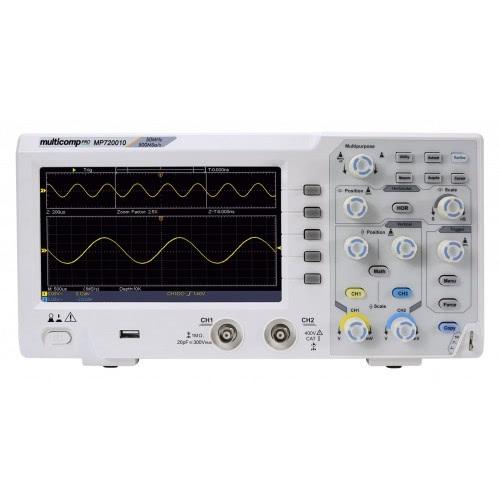 Digital Oscilloscope Dual Trace/Channel