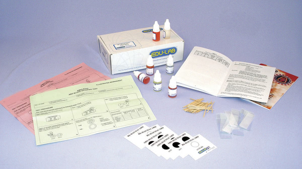 Blood Typing Kit