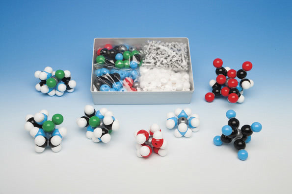 Molecular Model Set - Semi-Space Filling