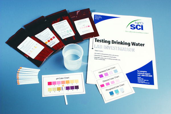 Testing Drinking Water Kit