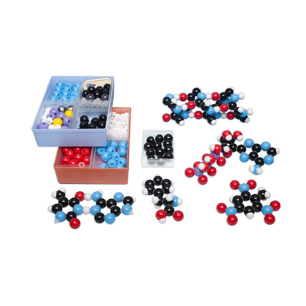 Molecular model set, Biochemistry 257 atom-parts
