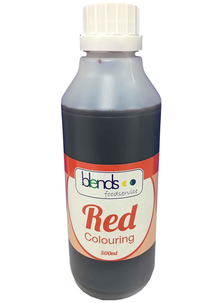 Food Colouring Red (500ml Bottle)