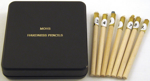 Moh's Hardness Testing Pencil 3-9
