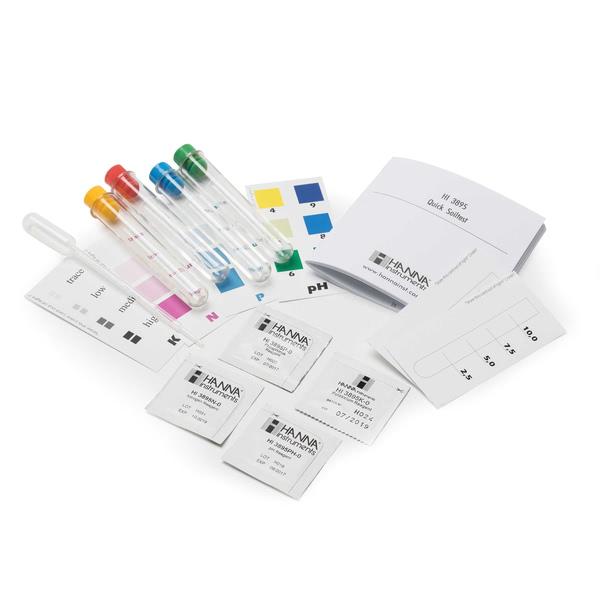 Soil test kit for pH