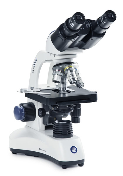 Ecoblue Binocular Microscope, 1000x, LED Illumationation