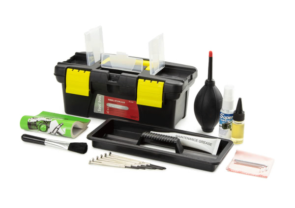 Microscope Maintenance & Servicing Kit
