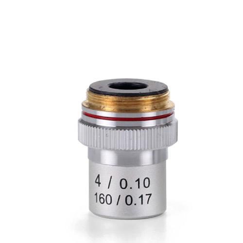 Achromatic 4x/0.10 Objective for EcoBlue Microscopes
