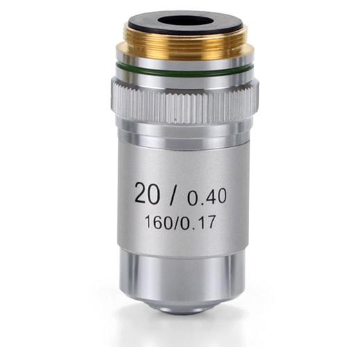 Achromatic 20x/0.40 Objective for EcoBlue Microscopes