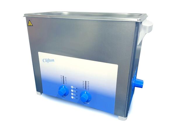 Clifton™ Heated Timed Ultrasonic Bath, 6 Litre