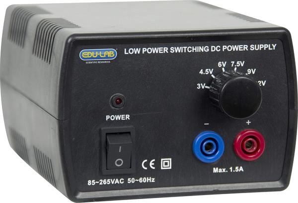 Power Supply, Stepped 3-12V, 1.5A Regulated DC