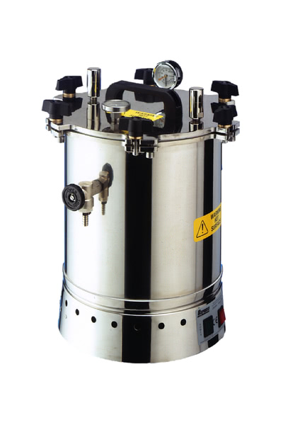 Autoclave, Stainless Steel,  15 Litre