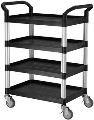 Laboratory Trolley - 4 Shelf