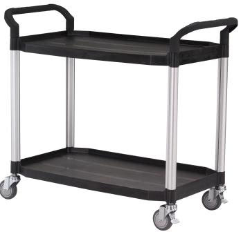Laboratory Trolley - 2 Shelf, Large, 250KG