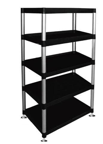 5 Shelf Storage Unit With Adjustable Feet