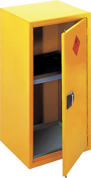 Hazardous Storage Cabinet Vertical  One Door
