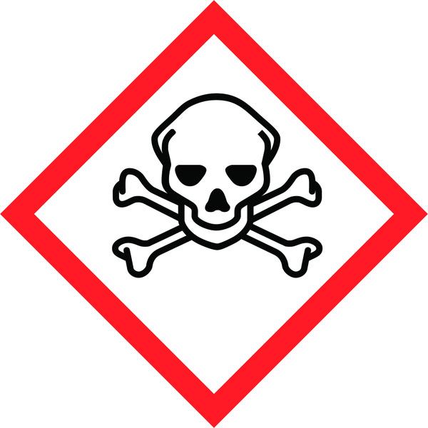 Hazard Warning Tape: Toxic