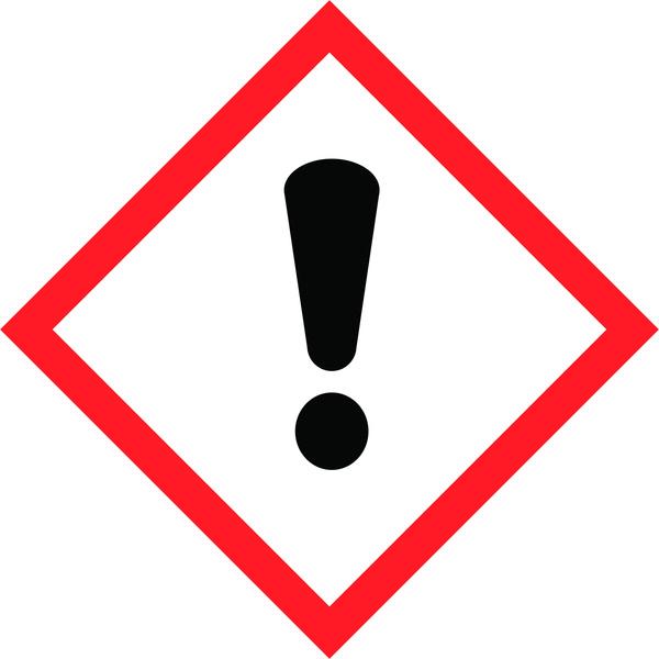 Hazard Warning Tape: Irritant, GHS07