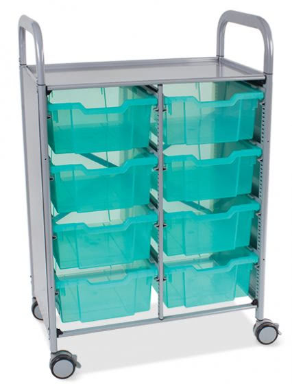Double Callero Plus Antimicrobial Trolley