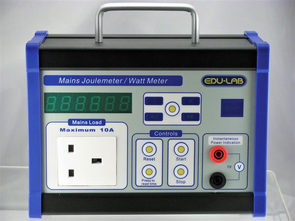 Mains Joule & Watt Meter