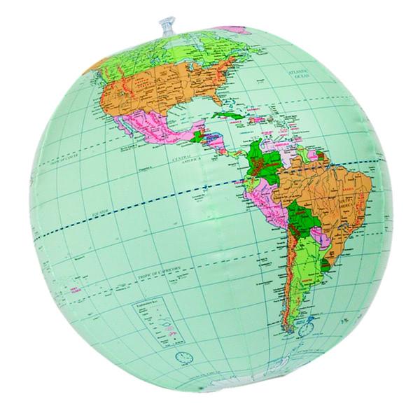 Geopolitical 24 Inch Globe Inflatable.