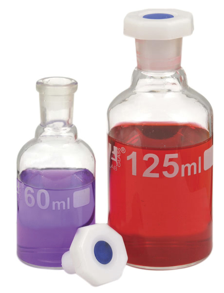 Reagent Bottle, Clear Glass