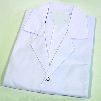 Lab Coats Plain 38 Inch