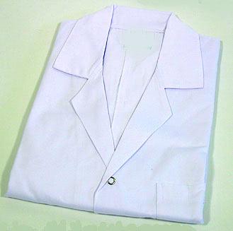 Lab Coats Plain 34 Inch