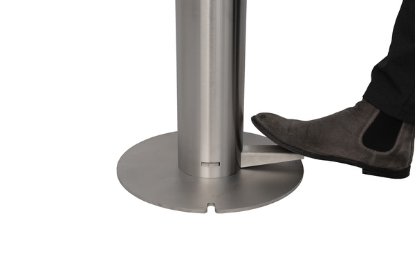 Hand Sanitiser Dispenser Bollard