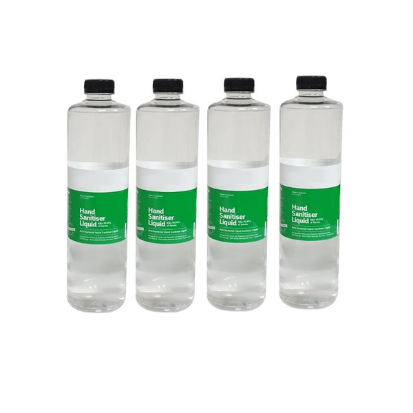 Hand Sanitiser Refill Bottle for Dispenser Bollard