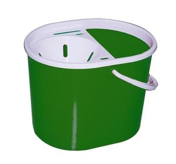 Mop Bucket with Strainer - Green