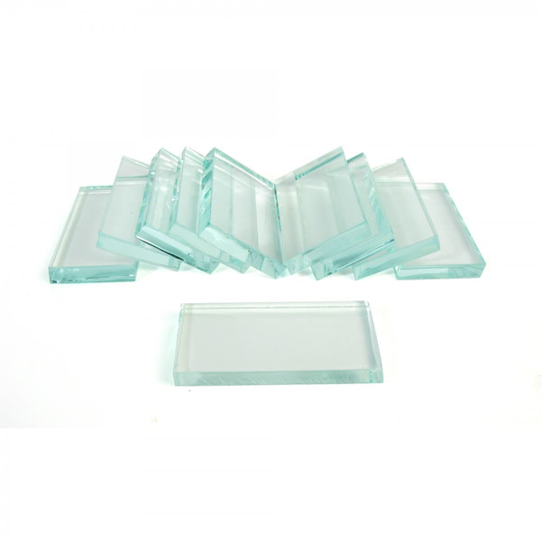 Streak Plates Glass (Pk10)