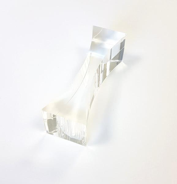 Prism - Acrylic 25mm  - Biconcave 75x115