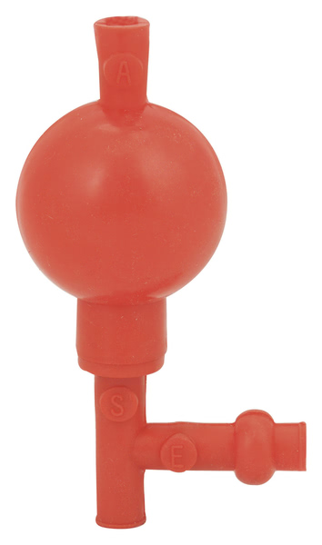 Pipette Filler Bulb Type (Red)    (Pk10)