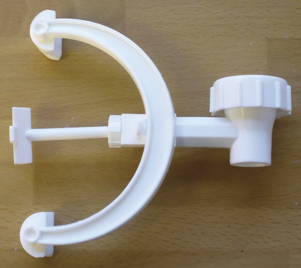 Burette Clamp, Polypropylene, Single Clamp