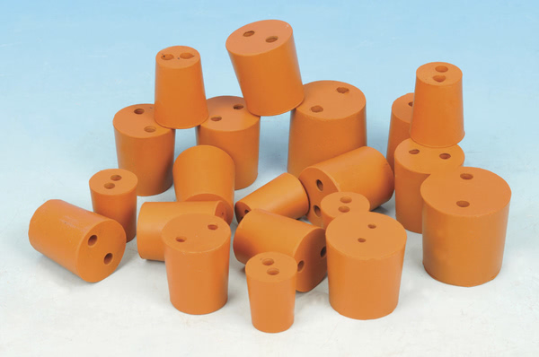 Rubber Stopper 2 Hole Size 13  (Pk10)